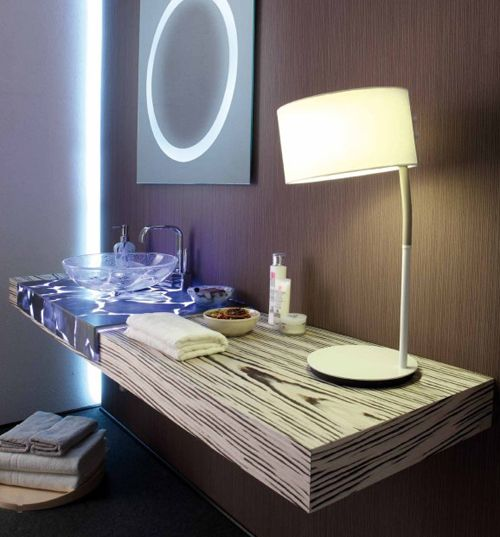 Transparent Countertops in Alabaster by Masto Fiore | Magical ...