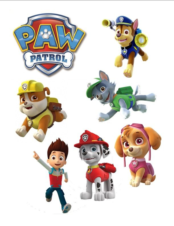 Paw Patrol Edible Cake Decorations Google Search Birthday Ideas