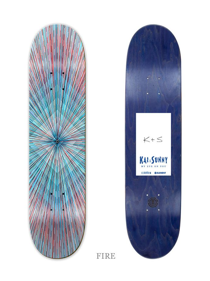 974116abfdc Kai and Sunny x Colette x Element' Skateboards | skate | Skateboard ...