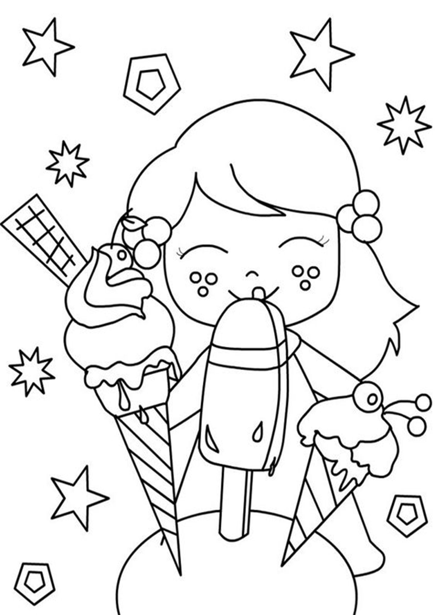 Free Easy To Print Ice Cream Coloring Pages Ice Cream Coloring Pages Summer Coloring Pages Coloring Pages