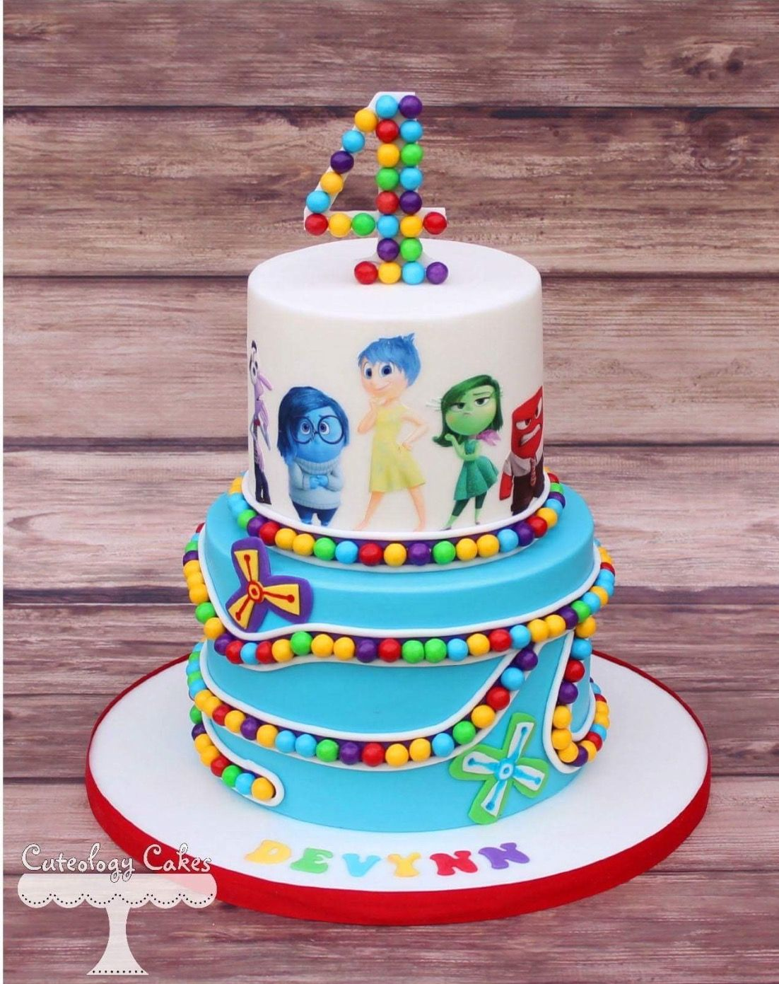 Great Insideout Cake BEAUTIFUL CAKES Pinterest Cake