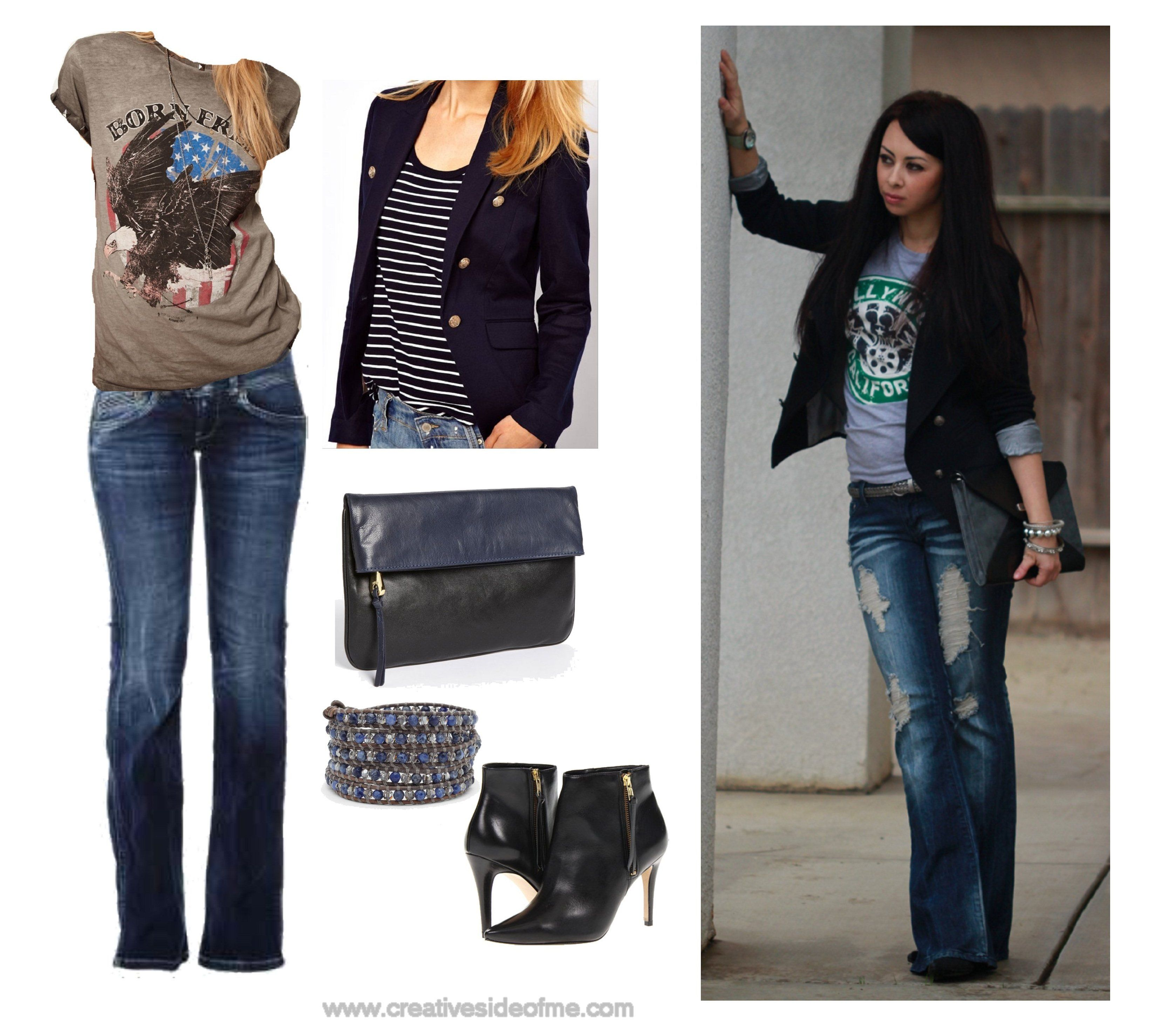 Outfits With Bootcut Jeans - Xtellar Jeans