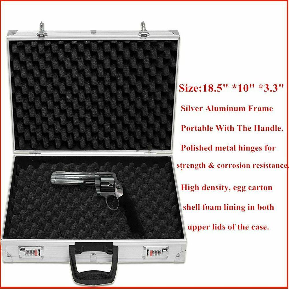 Gun Case With Lock