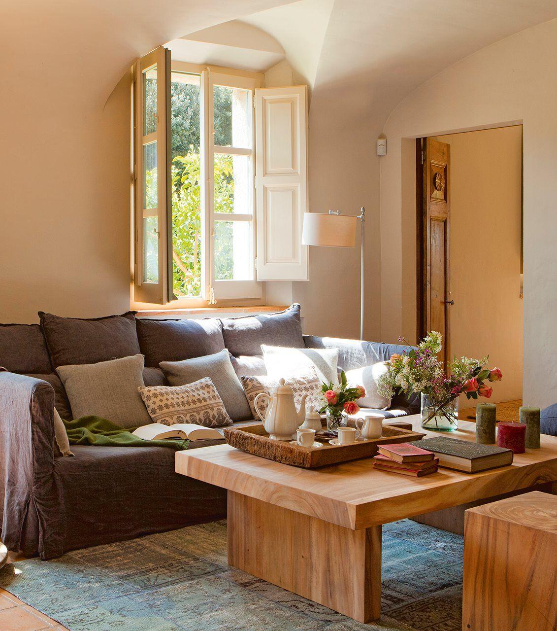 15 mesas de centro que ayudan a organizar el saln Living rooms