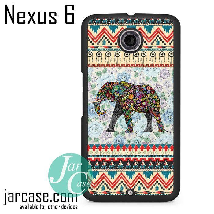 Aztec Elephant Vintage Floral Phone case for Nexus 4/5/6