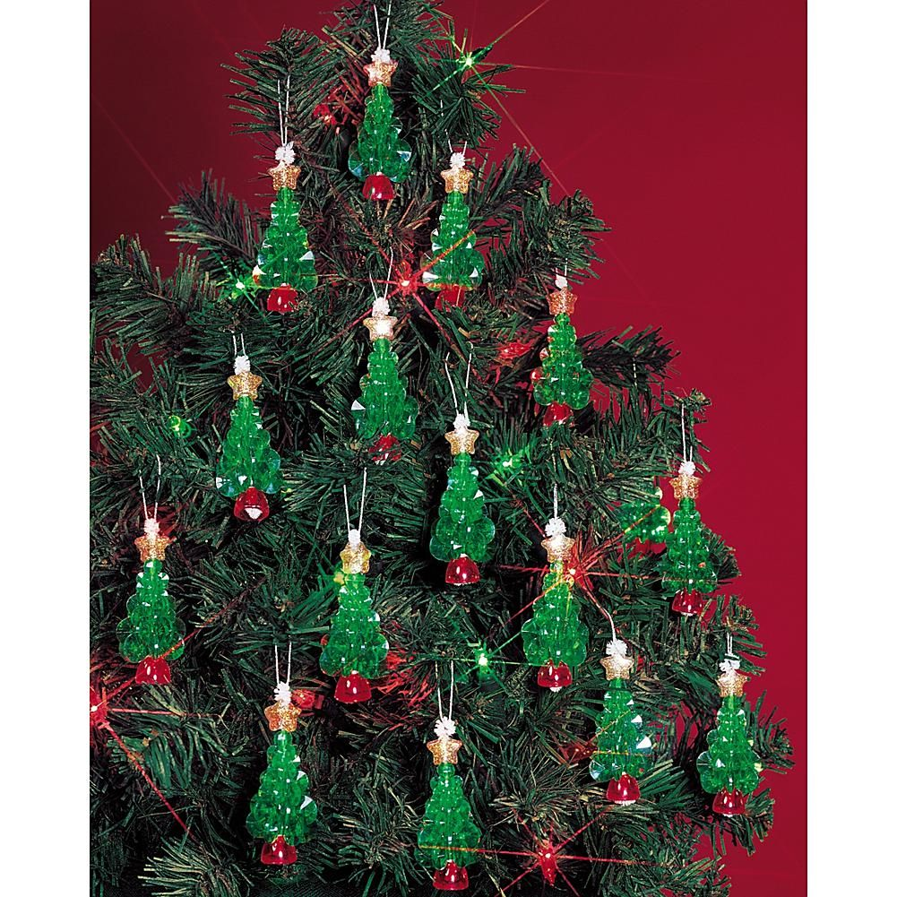 Holiday Beaded Ornament Kit Mini Trees 2 25 Makes 24 6917636 Hsn In 2020 Christmas Tree Ornament Crafts Christmas Crafts Diy Christmas Ornament Crafts