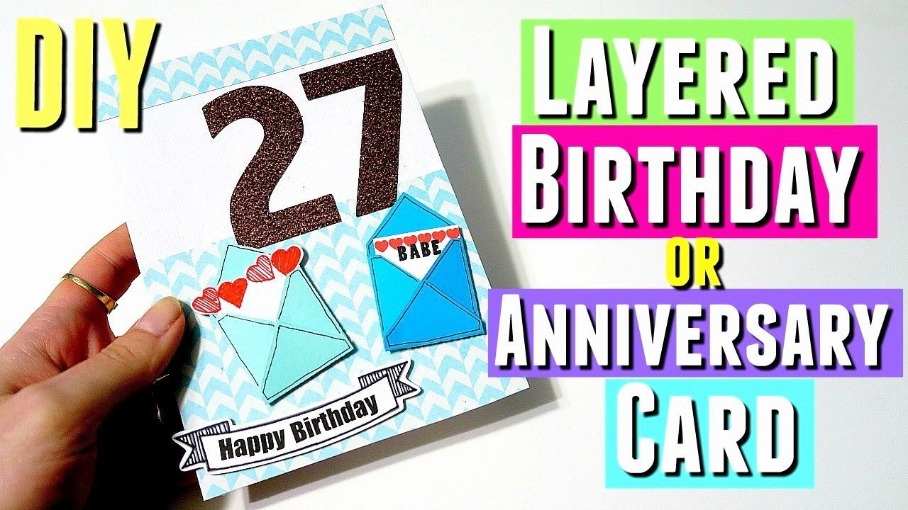 10 Year Anniversary Card Luxury Anniversary Card Ideas for
