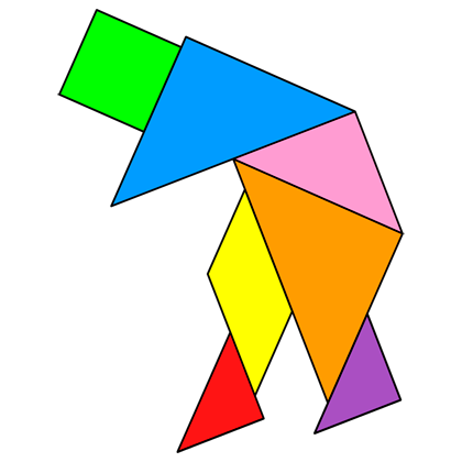 tangram old man tangram solution 136 providing teachers and pupils with tangram puzzle