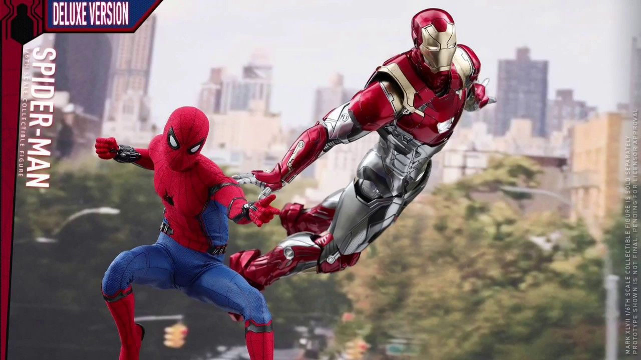 Hot Toys Spiderman Homecoming Deluxe Version W Preorder Link Hot