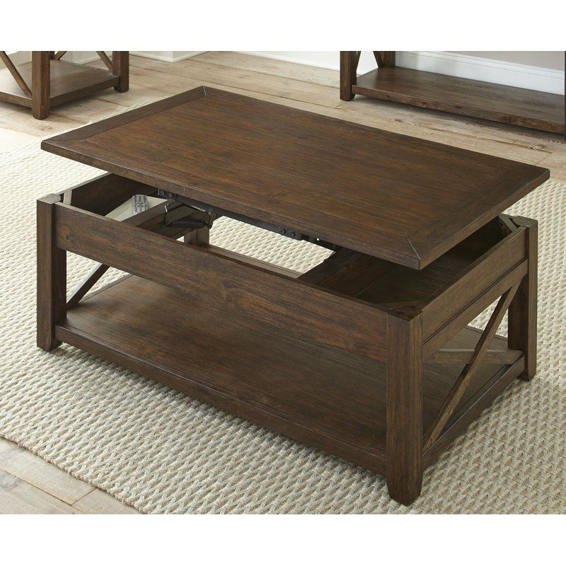 Laplant Lift Top Coffee Table With Storage Coffee Table With