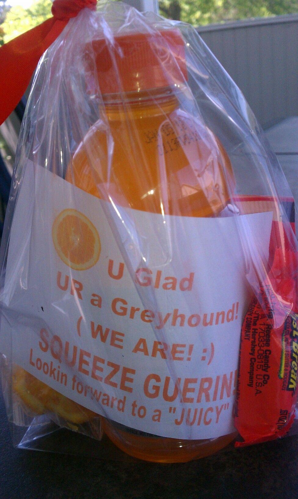 Team Treats.orange Gatorade Orange Slices Cuties