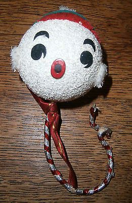 #Vintage 1950's #snowball in a pixie hat face christmas tree #decoration ,  View more on the LINK: 	http://www.zeppy.io/product/gb/2/301826037338/