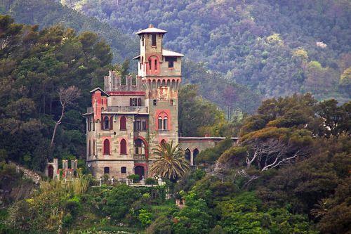 Castello di Monleone - Liguria Moneglia GE   #TuscanyAgriturismoGiratola