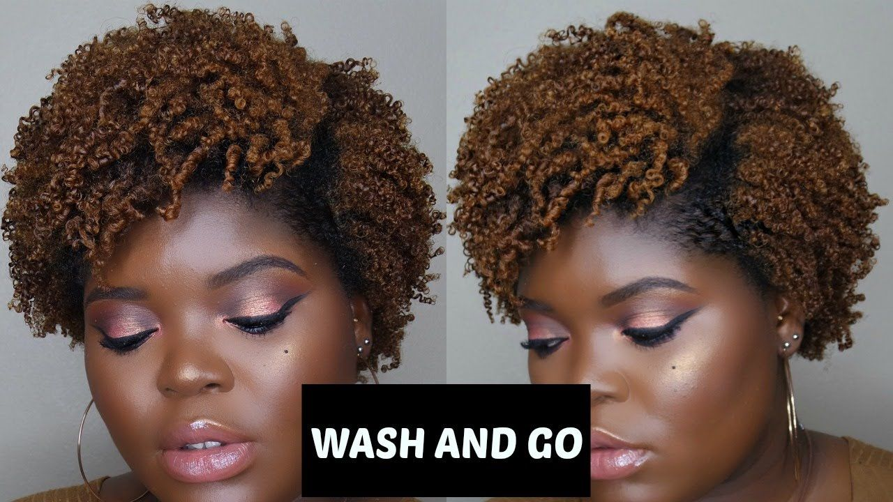 Wash And Go On Awkward Stage Type 4 Natural Hair Video Https Blackhairinformation Com Video G Natural Hair Types Natural Hair Styles Natural Hair Washing