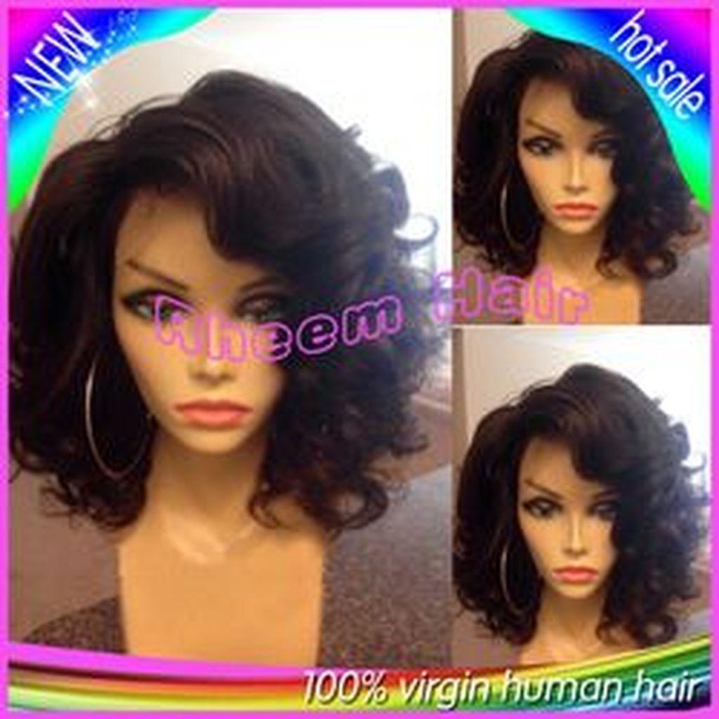 groovy short bob hairstyles ideas for black women in