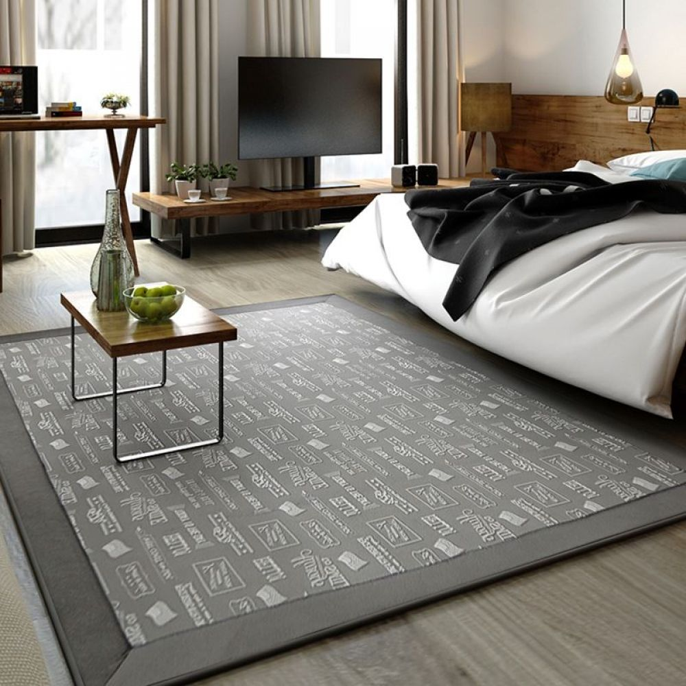 Fashion 130x190cm Carpet Bedroom Area Rug Floor Mat Japanese And Korean Style For Living Room Alfombras Simple Modern Door Mat Bedroom Carpet Bedroom Area Rug Floor Rugs