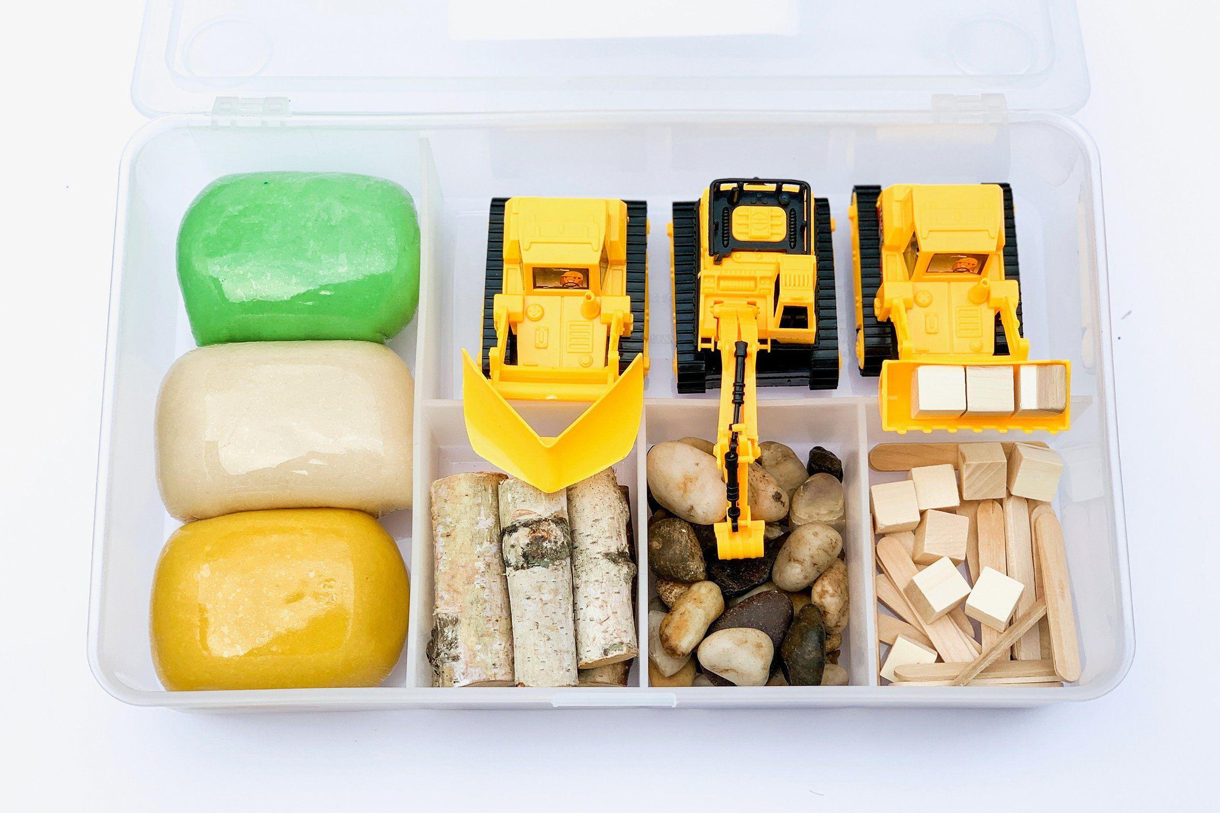 Construction Kit Playdough kits, Playdough kit gift