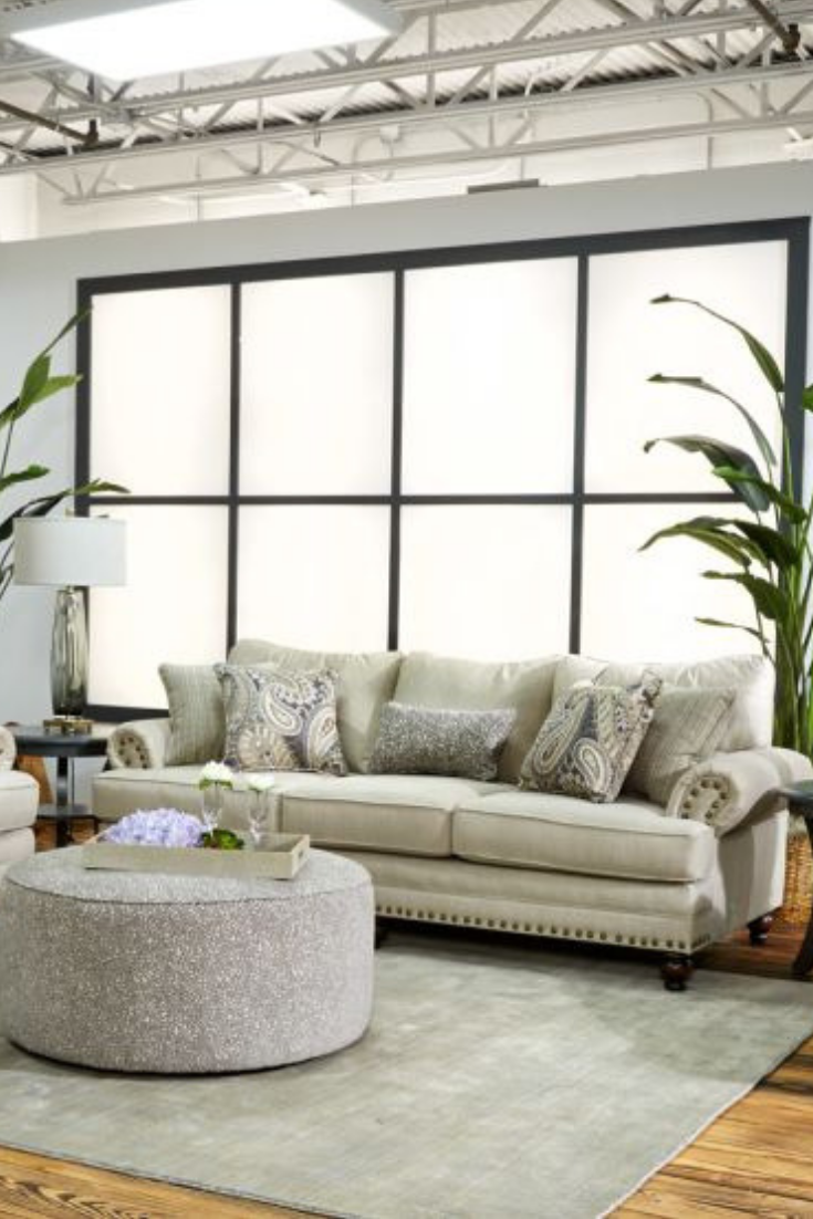 The Silvery City Living Room Collection Was Designed With Your Comfort In Mind Beautiful Nailhead Trim City Living Room Living Room Collections Room