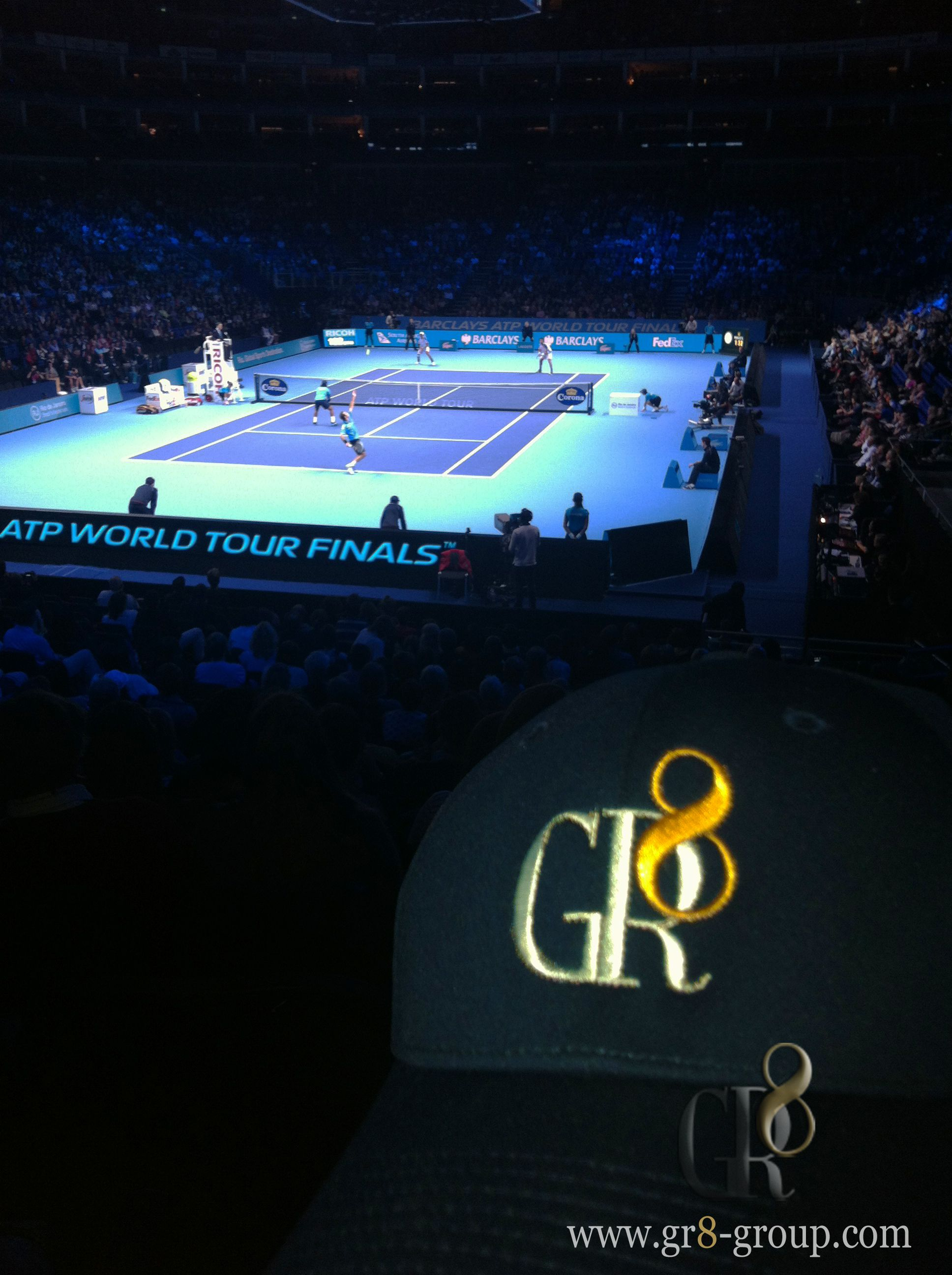GR8 at the Barclays ATP World Tour Finals! Great end to the season!