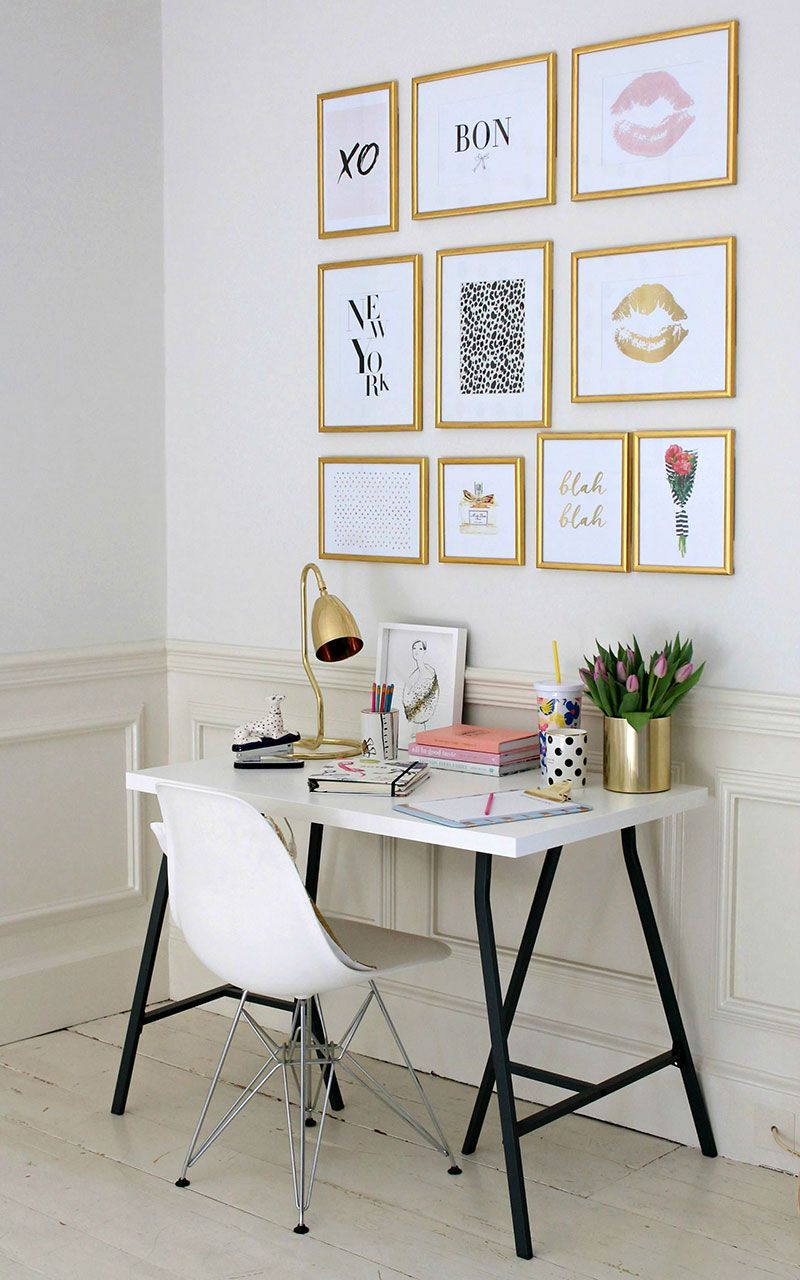 Great ideas for a home office you\'ll actually want to work in ...