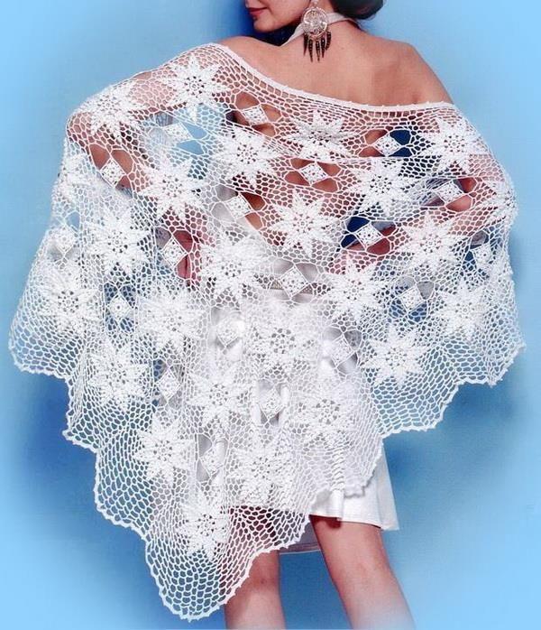 Fabulous shawl for evening Pattern (1) … Pattern (2) … This Fabulous ...
