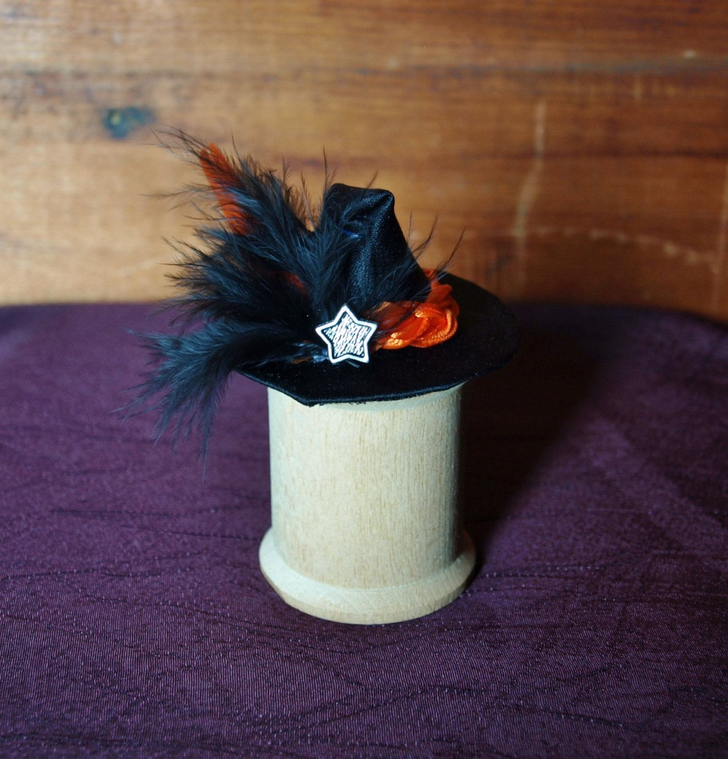 Witch Miniature Hat Fairy Mini Fantasy Dollhouse Mini