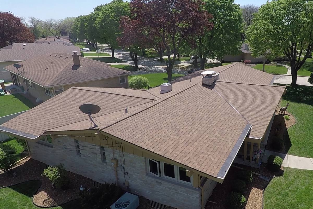 Best Modern House Replacement Roof Project Owens Corning 640 x 480