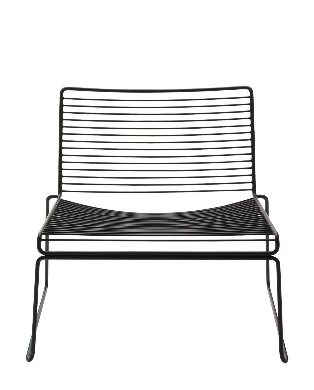 Stuhl Hee Lounge black von HAY kaufen   online kaufen   Geliebtes Zuhause.de   Lounge stuhl ...