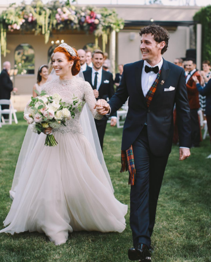 Emma Wiggle Shares Adorable New Wedding Pictures Celebrity