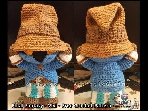 Free Naruto Amigurumi Pattern : Final fantasy vivi free crochet pattern final fantasy free