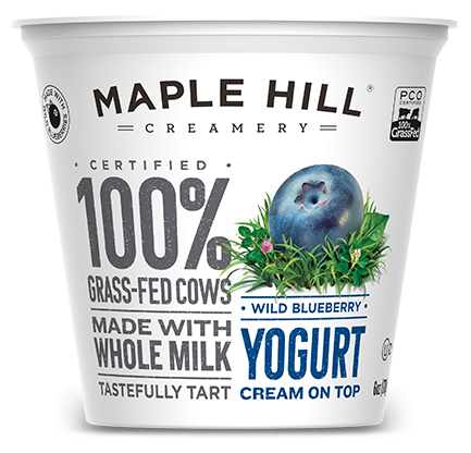 Maple Hill Packaging Pishevye Upakovki Jogurt Upakovka