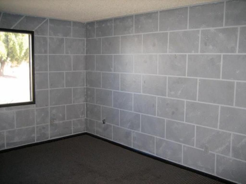 Strong and inexpensive cinder block wall has become a ...