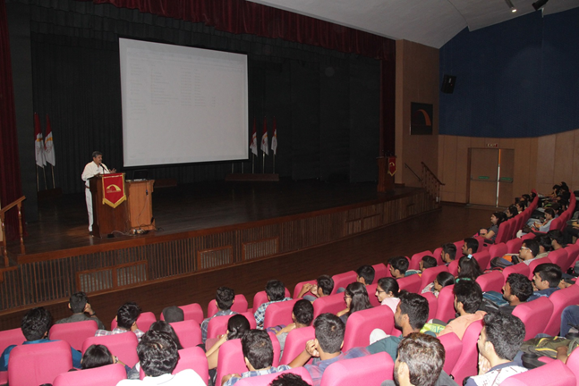 Guest Lecture by Prof  RK Sharma | The Department of APS organized a