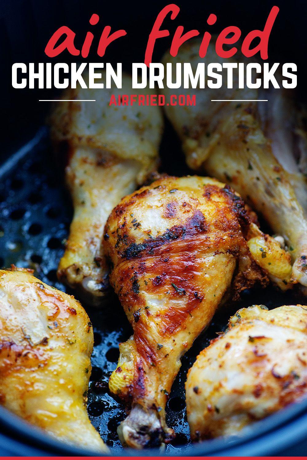 An Easy, Savory Air Fryer Drumsticks Recipe