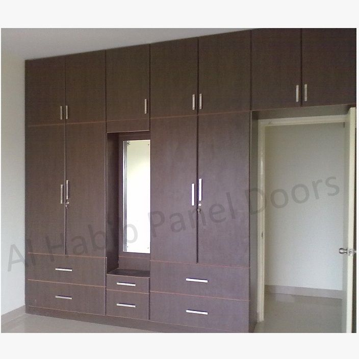 Custom Made Fitted Wardrobe Hpd526   Fitted Wardrobes   Al Habib Panel Doors