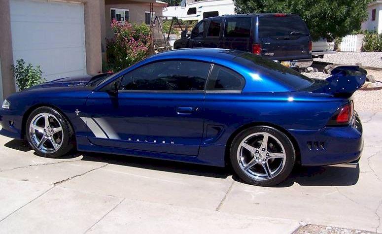 Moonlight Blue 1997 Saleen S351 Mustang Coupe Mustang Coupe Saleen Mustang Ford Mustang
