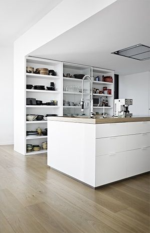 Calm Barcelona home - via Coco Lapine Design Kitchen Pinterest