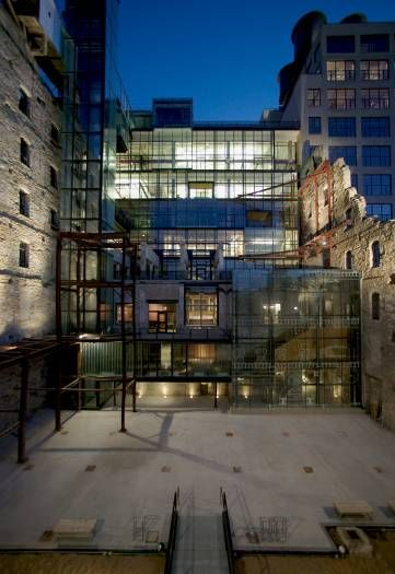 Mill City Museum Building Addition And Restoration By MS Architects  Minneapolis MN USA