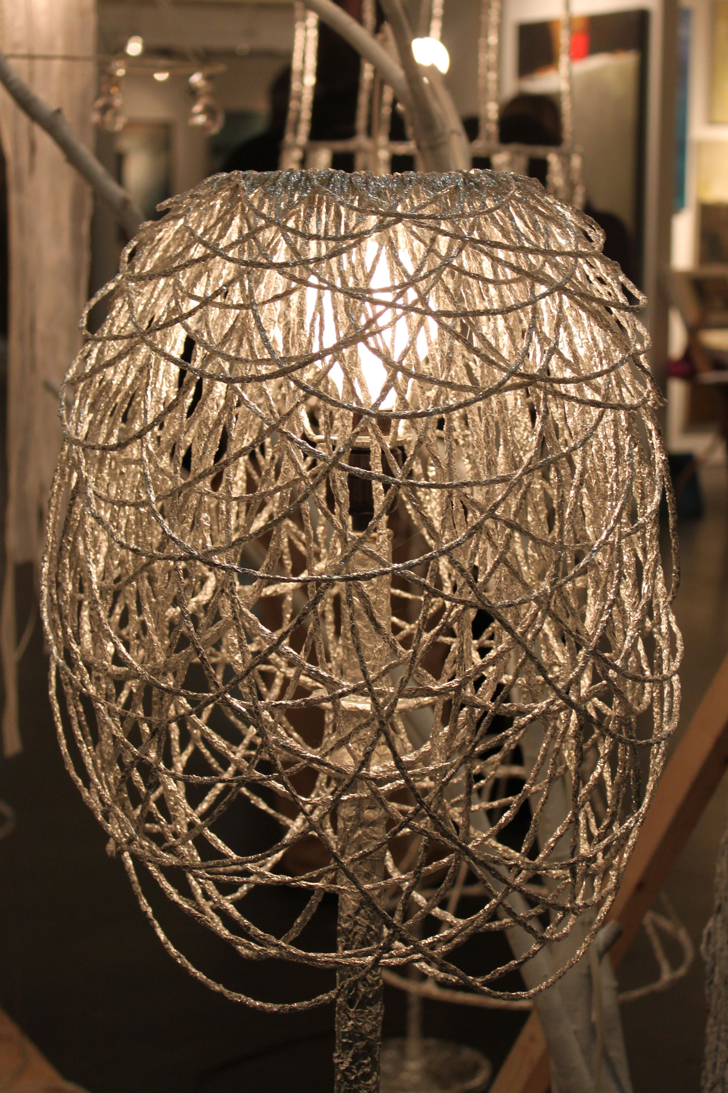 Soon Chou0027s Ingenious Designs From Everyday Materials   Recycled Lamp Shade