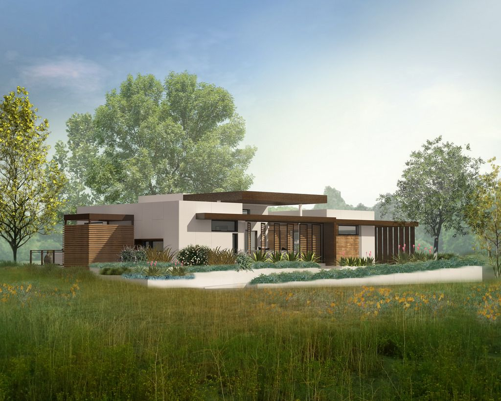 Solar Decathlon Entry Inspired By The Golden Poppy Green