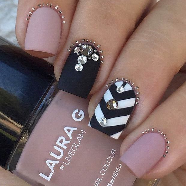 25 Matte Nail Designs Youll Want to Copy this Fall Matte nails