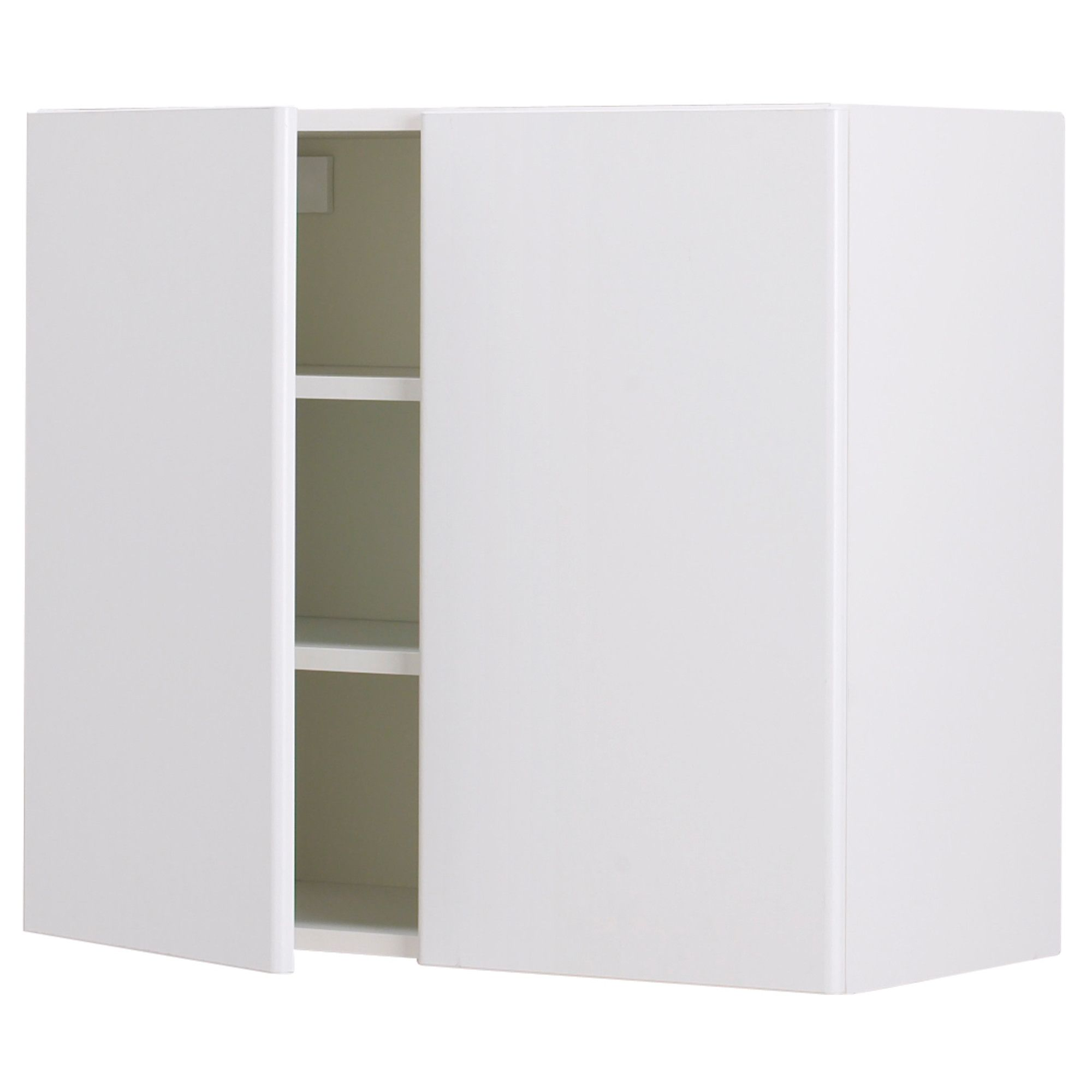 Diaper Cabinet Option: AKURUM Wall Cabinet With 2 Doors   White, Härlig  White,