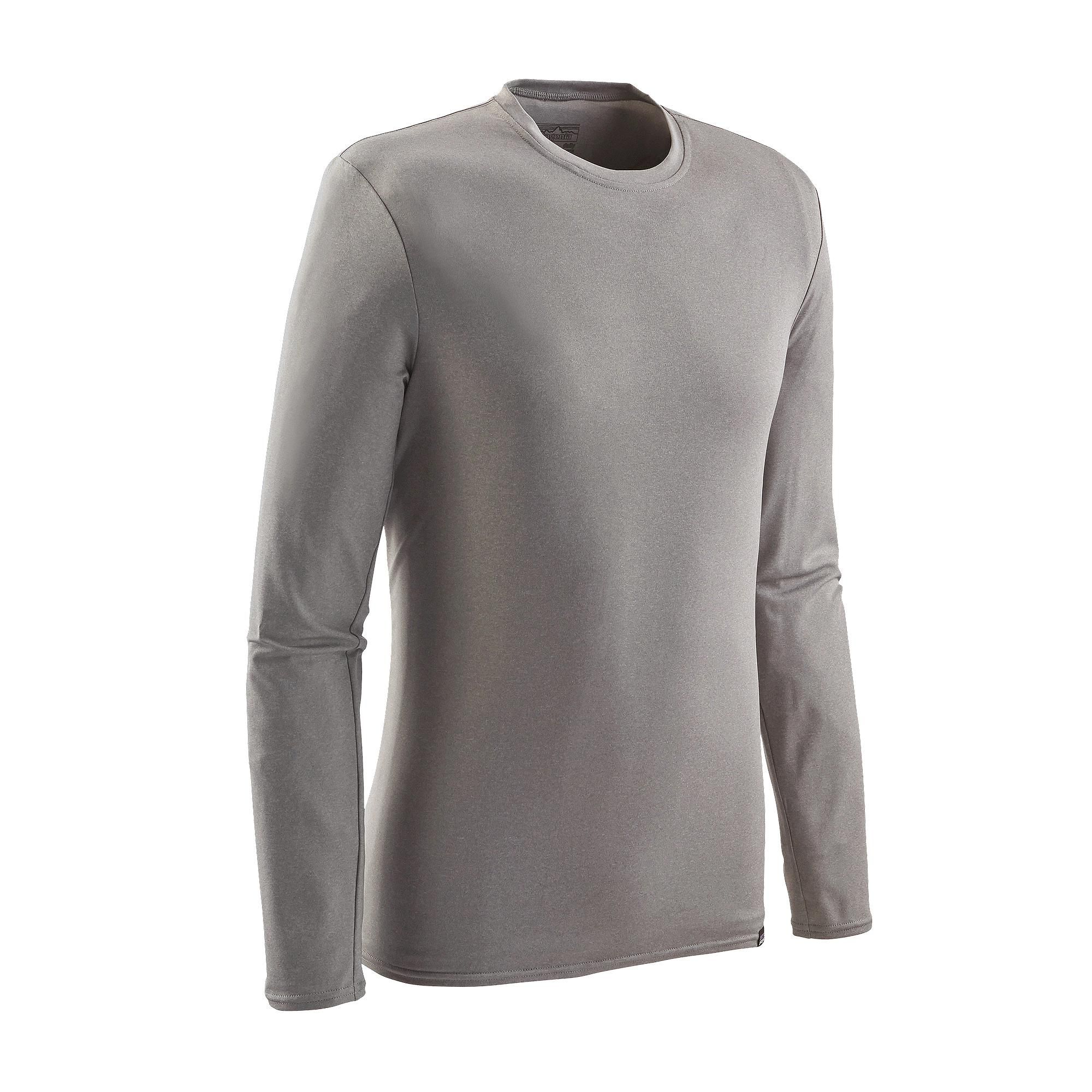 The Patagonia Men S Long Sleeved Capilene 174 Daily T Shirt