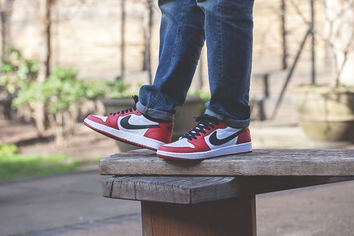 online retailer 312b6 827df The Sole Supplier. Hot or not  Nike Air Jordan 1 Low Chicago. Available  now. http