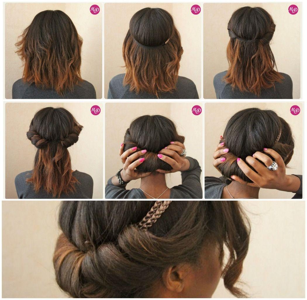comment friser ses cheveux sans fer recherche google hair pinterest coiffure cheveux et. Black Bedroom Furniture Sets. Home Design Ideas