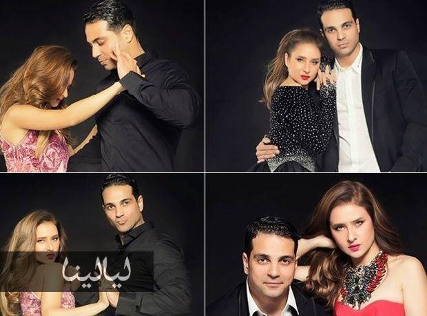 أجمل صور نيللي كريم وزوجها دكتور هاني أبو النجا موقع ليالينا