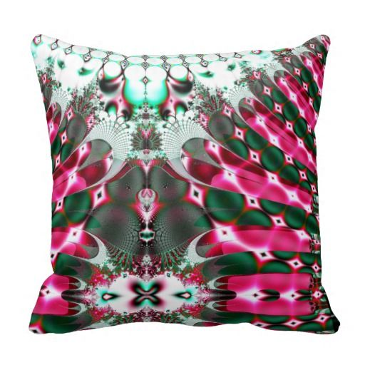 Abstract bubble Splash American Throw Pillow