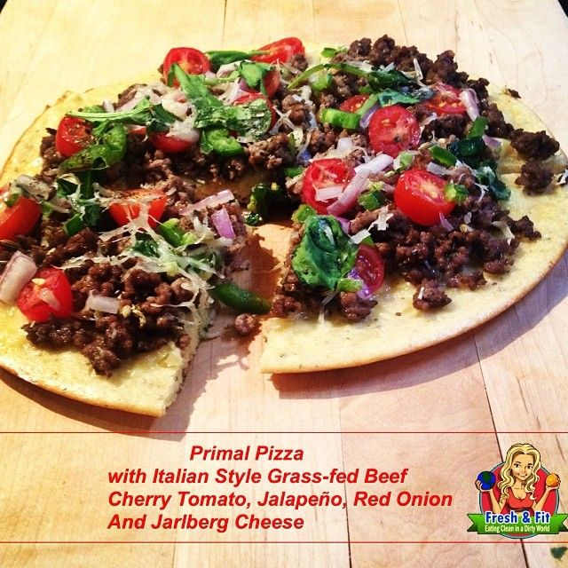 Primal Pizza Crust--Recipe on Freshandfit.org #cleaneating #primal #recipe #healthyeating #nutrition #pizza