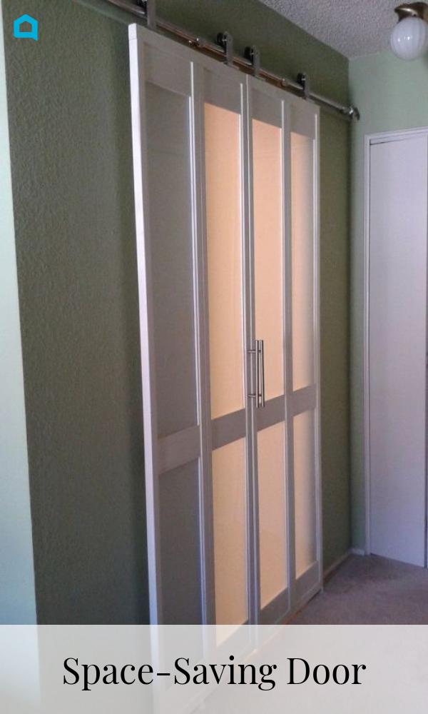 Space Saving Door Space Saving Doors Space Saving Door Makeover