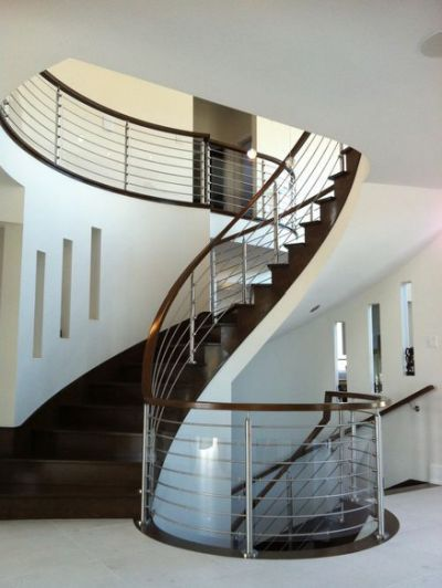 Best Stainless Steel Staircase Railing Modern Staircase 400 x 300